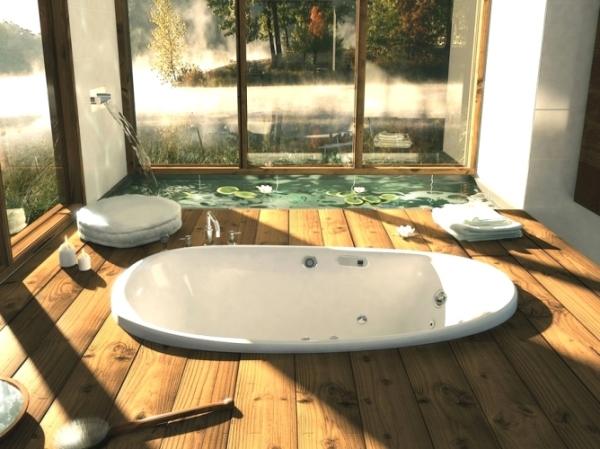 Ванная за городом – это неповторимое ощущение уюта.