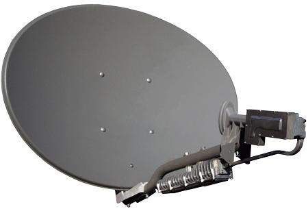 Вариант мобильного комплекта двухсторонней спутниковой связи, который позволяет не только получать телевизионные сигналы, но и иметь доступ в сеть интернет