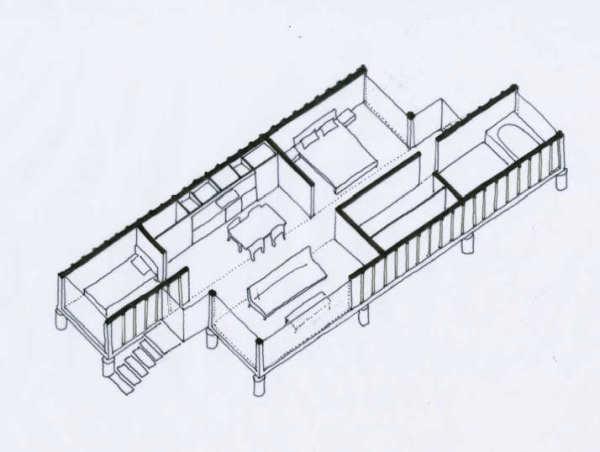 Вариант проекта с использованием нескольких контейнеров