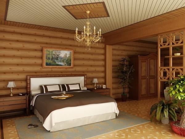 Внутренний интерьер дачного домика зависит от ваших возможностей и фантазии