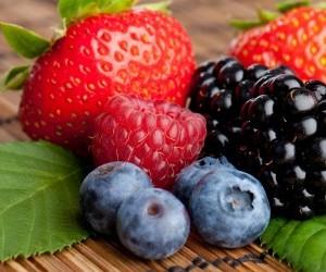 Ягоды из сада богаты полезными микроэлементами и витаминами
