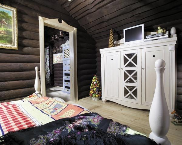 Загородная спальня