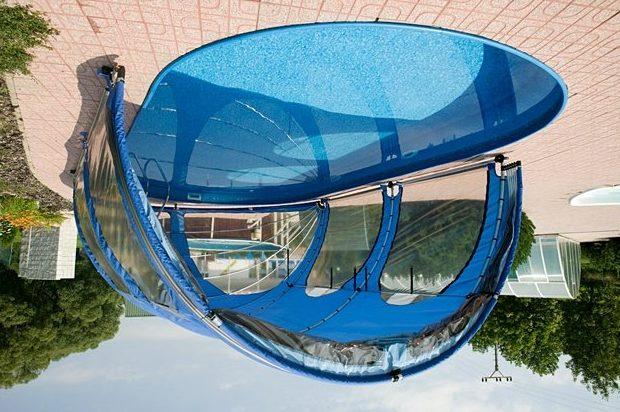 Закрытый бескаркасный бассейн