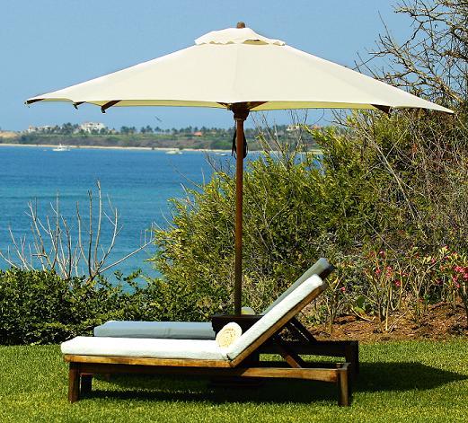 Защищайте дачную мебель от прямых солнечных лучей